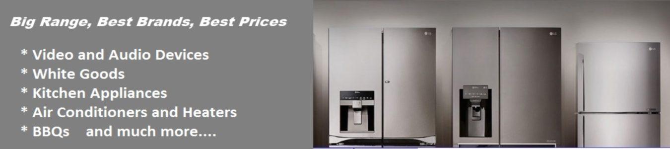 Huge Discounts on home appliances