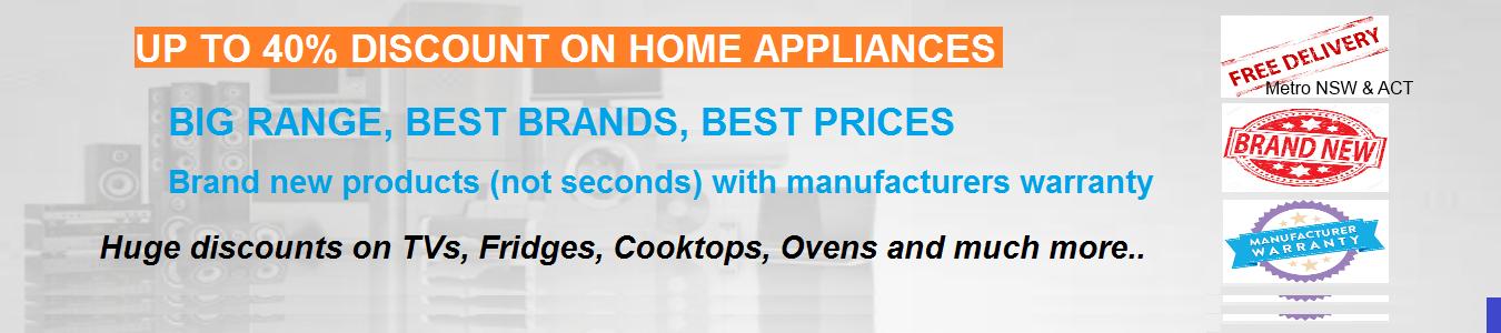 Best Brands, Best Price Home Appliances