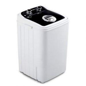 Devanti 4.6KG Mini Portable Washing Machine - Black PWM-S-46-BK