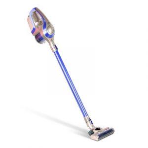 Devanti Cordless Stick Vacuum Cleaner - Blue & Grey VAC-CL-150-GY-BL