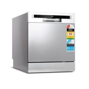 Devanti Benchtop Dishwasher 8 Place Setting BDW-8-02G-SI