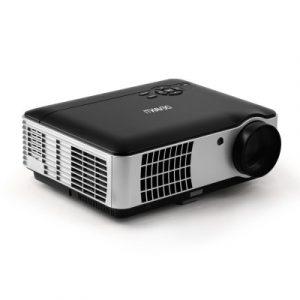 Devanti Mini Video Projector Portable WiFi Bluetooth HD 1080P 2800 Lumens Home Theater VP-806A-L28-BK
