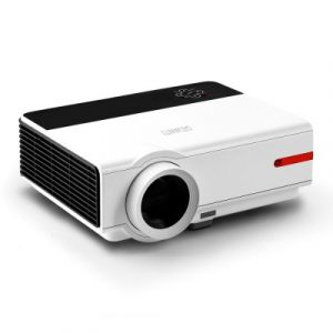 Devanti VP-808A-L32-WH Mini Video Projector Portable WiFi Bluetooth HD 1080P 3200 Lumens Home Theater