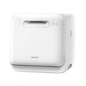 Devanti Countertop Benchtop Mini Dishwasher Portable BDW3-01-WH