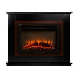 Devanti EFL-B-2000-FRAME-BK 2000W Electric Fireplace Mantle