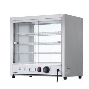 Devanti Commercial Food Warmer Pie Hot Display CFW-480M-SI