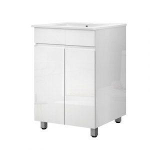 Cefito 600mm Bathroom Vanity BV-YQ01-600-WH-AB