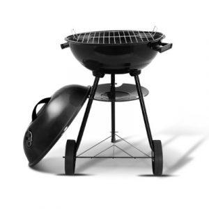 Grillz Charcoal BBQ Smoker Drill Outdoor BBQ-AGRILL-ST-REBK