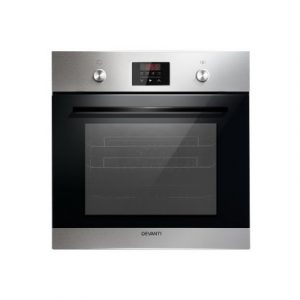 Devanti 70L Electric Built in Wall Oven Stainless Steel Fan Forced Convection BIO-B-5F-BFE2-SS