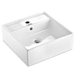 Cefito Ceramic Rectangle Sink Bowl - White CB-082-WH