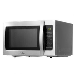 Midea 34L 1100W Electric Digital Solo Microwave Oven Kitchen Silver MWO-34S-SR