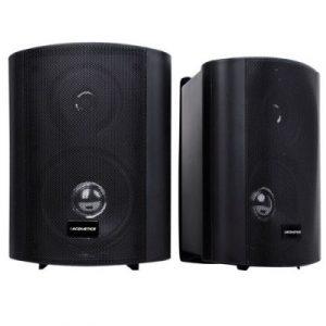 Giantz Set of 2 Speakers 150W 2-Way Indoor/Outdoor RS-OD-SP-4309B