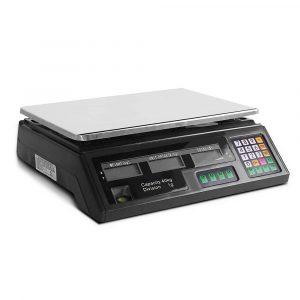 40KG Digital Scale SCALE-SHOP-B-40KG-BK
