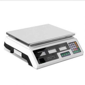 40KG Digital Scale SCALE-SHOP-B-40KG-WH