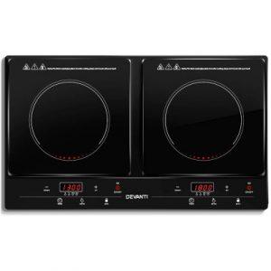 Devanti Portable Ceramic Electric Induction Cook Top CT-IN-213-1