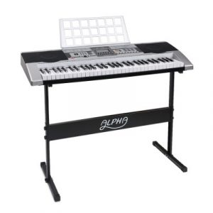 Alpha 61 Keys Electronic Piano Keyboard EK-JK-68-SL-H