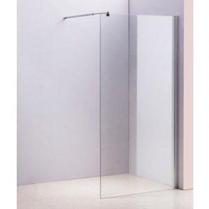1200 x 2000mm Frameless 10mm Safety Glass Shower Screen V63-799067