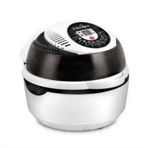 Devanti 10L 8 Function Convection Oven Cooker Air Fryer- White AF-K-02D-8-WH
