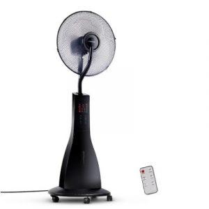 Devanti Portable Misting Fan with Remote Control - Black MF-RC-40-BK
