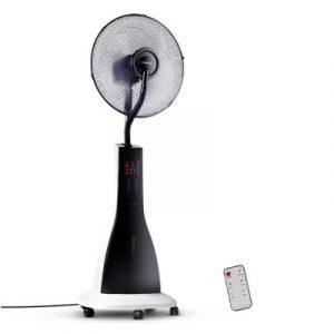 Devanti Portable Misting Fan with Remote Control - white MF-RC-40-WK