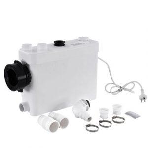 400W Macerator Sewerage Pump Waste Toilet Sewage Water Disposal Marine Basement PUMP-MAC-400SL-WH