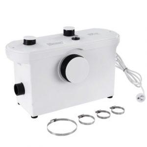Macerator Sewerage Pump Waste Water Marine Toilet Disposal Unit Laundry Basement PUMP-MAC-600-WH