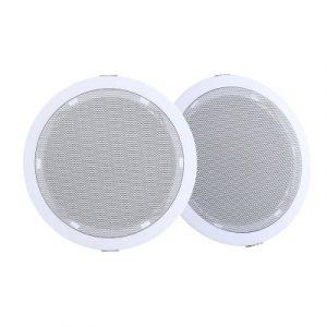 "2 x 6"" In Ceiling Speakers Home 80W Speaker Theatre Stereo Outdoor SPK-CEILING-MSR127"