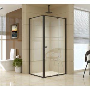Semi Frameless Shower Screen (98~106)x 195cm & (77~80)x 195cm Side AS/NZS Glass V63-824521
