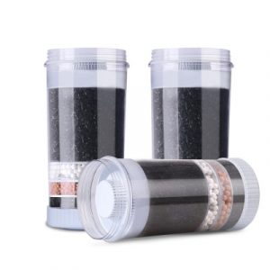 Devanti Water Cooler Dispenser Tap Water Filter Purifier 6-Stage Filtration Carbon Mineral Cartridge Pack of 3 WD-FILTER-22B-6TX3