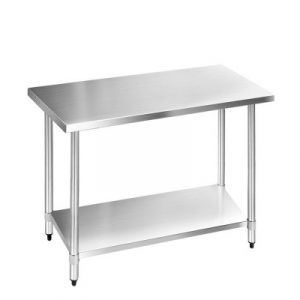 Cefito Commercial Stainless Steel Kitchen Bench SSKB-304S-48
