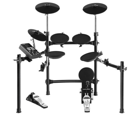 8 Piece Electric Electronic Drum Kit Drums Set Pad Tom Midi For Kids and Adults ED-SD613-BK