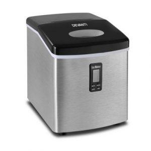 Devanti 3.2L Stainless Steel Portable Ice Cube Maker IM-ZB12S-SS