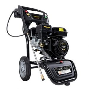 Giantz Petrol High Pressure Washer Gun Water Cleaner Gurney Pump 8HP 4800PSI WASHER-E-170D-10M-BK