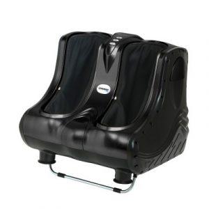 Livemor Foot Massager Ankle Calf Leg Massagers Shiatsu Kneading Rolling Black FOOT-MASSAGE-LF03-BK