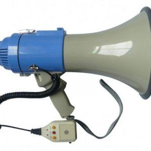 25W Megaphone PA System Loud Speaker Voice Recorder V63-775725
