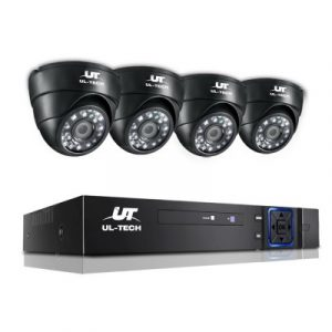 UL-Tech 1080P 4 Channel HDMI CCTV Security Camera CCTV-4C-4D-BK