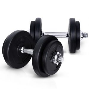 Everfit 20kg Gym Exercise Dumbbell Set FIT-E-DB-SET-20KG