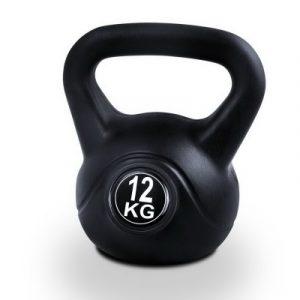 Everfit 12kg Kettlebells Fitness Exercise FIT-E-KB-12KG-BLACK
