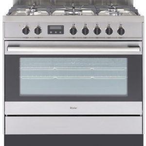 Haier 90cm Freestanding Dual Fuel Oven/Stove HOR90S9MSX1