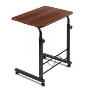 Mobile Twin Laptop Desk - Dark Wood LA-DESK-60-DW