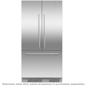 Fisher & Paykel Door Panel Kit for RS90A1 Stainless Steel no handles RD90