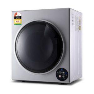 Devanti 6kg Tumble Dryer Vented Full Automatic Wall Mountable Silver TD-B-6KG-SR