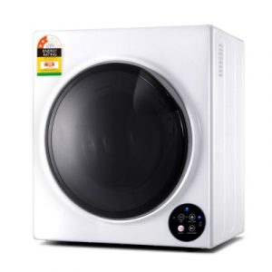 Devanti 6kg Tumble Dryer Vented Full Automatic Wall Mountable White TD-B-6KG-WH