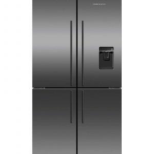 Fisher & Paykel Freestanding Quad Door Refrigerator Freezer 90.5cm 605L Ice & Water RF605QDUVB2