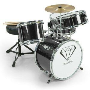 Children's 4pc Drum Kit - Black 4pc-drum-blk