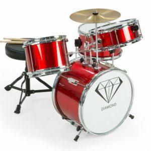 Children's 4pc Drum Kit - Red 4pc-drum-rd