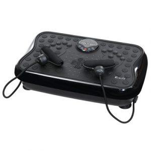 Everfit Vibration Machine Machines Platform Plate Vibrator Exercise Fit Gym Home FIT-H-VP-S-BK