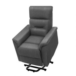 Artiss Recliner Lift Chair Adjustable Armchair Luxury Lounge Padded Sofa Single RECLINER-B-LF-9966-LIN-GY