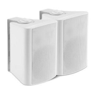 """Shintaro SH-S720W 5.25"""" Powered Indoor Wall Speakers - Active/Passive"""