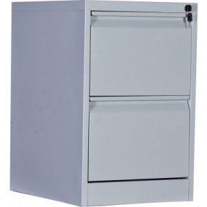 2-Drawer Shelf Office Gym Filing Storage Locker Cabinet V63-772605